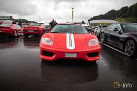 Front  of Ferrari 360 Modena 3.6 V8 Manual, 400ps, 2005 at Autoropa Racing day Knutstorp 2015