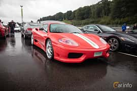 Front/Side  of Ferrari 360 Modena 3.6 V8 Manual, 400ps, 2005 at Autoropa Racing day Knutstorp 2015