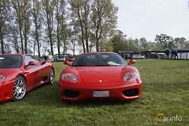 Front  of Ferrari 360 Modena 3.6 V8 Manual, 400ps, 2000 at Tisdagsträffarna Vikingatider v.19 / 2017