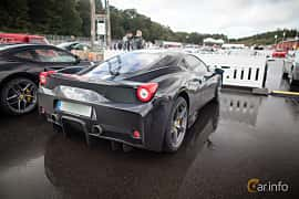 Back/Side of Ferrari 458 Speciale 4.5 V8  DCT, 605ps, 2013 at Autoropa Racing day Knutstorp 2015