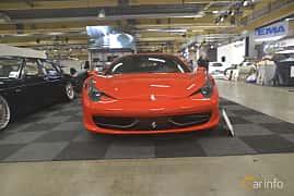 Front  of Ferrari 458 Italia 4.5 V8  DCT, 570ps, 2013 at Bilsport Performance & Custom Motor Show 2019