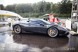 Side  of Ferrari 458 Speciale 4.5 V8  DCT, 605ps, 2013 at Autoropa Racing day Knutstorp 2015