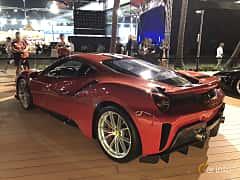 Back/Side of Ferrari 488 Pista 3.9 V8 DCT, 720ps, 2018