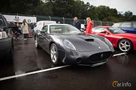 Front/Side  of Ferrari 575 GTZ 5.7 V12 Manual, 515ps, 2002 at Autoropa Racing day Knutstorp 2015