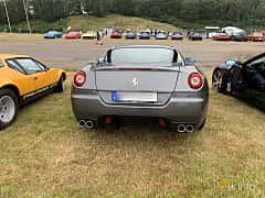 Back of Ferrari 599 GTB 6.0 V12 Sequential, 620ps, 2009 at Svenskt sportvagnsmeeting 2019
