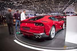 Bak/Sida av Ferrari 812 Superfast 6.5 V12 DCT, 800ps, 2018 på Geneva Motor Show 2017