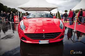 Front  of Ferrari California T 3.9 V8  DCT, 560ps, 2015 at Autoropa Racing day Knutstorp 2015