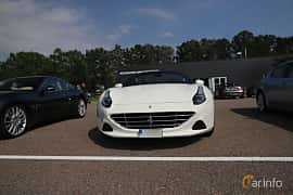 Front  of Ferrari California T 3.9 V8  DCT, 560ps, 2015 at Autoropa Racing day Knutstorp 2019