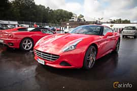 Front/Side  of Ferrari California T 3.9 V8  DCT, 560ps, 2015 at Autoropa Racing day Knutstorp 2015