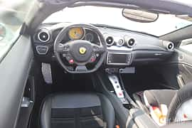 Interior of Ferrari California T 3.9 V8  DCT, 560ps, 2015 at Autoropa Racing day Knutstorp 2019