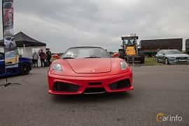 Fram av Ferrari F430 Spider 4.3 V8 Sequential, 490ps, 2008 på Vallåkraträffen 2019