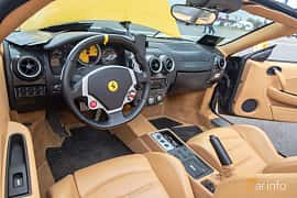 Interiör av Ferrari F430 Spider 4.3 V8 Sequential, 490ps, 2006 på Vallåkraträffen 2019