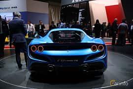 Back of Ferrari F8 Tributo 3.9 V8 DCT, 720ps, 2019 at Geneva Motor Show 2019