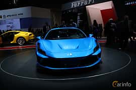 Front  of Ferrari F8 Tributo 3.9 V8 DCT, 720ps, 2019 at Geneva Motor Show 2019