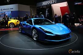 Front/Side  of Ferrari F8 Tributo 3.9 V8 DCT, 720ps, 2019 at Geneva Motor Show 2019