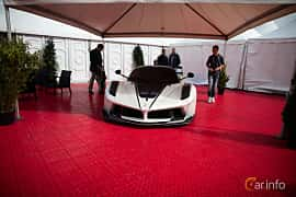 Front  of Ferrari FXX-K 6.3 V12 DCT, 1050ps, 2015 at Autoropa Racing day Knutstorp 2015