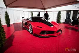 Front/Side  of Ferrari FXX-K 6.3 V12 DCT, 1050ps, 2015 at Autoropa Racing day Knutstorp 2015