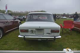 Bak av Fiat 124 Sedan 1.4 Manual, 69ps, 1969 på Italienska Fordonsträffen - Krapperup 2019
