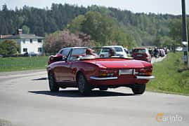 Bak/Sida av Fiat 124 Sport Spider 2.0 Manual, 102ps, 1980 på Tjolöholm Classic Motor 2017