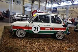 Sida av Fiat 126 Bis 0.7 Manual, 26ps, 1991 på Bilsport Performance & Custom Motor Show 2019