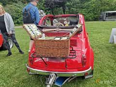 Back of Fiat Nouva 500 0.5 Manual, 14ps, 1958 at Sofiero Classic 2019