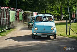 Front  of Fiat 500 L 0.5 Manual, 18ps, 1972 at Ronneby Nostalgia Festival 2019