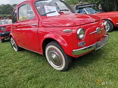 Front/Side  of Fiat Nouva 500 0.5 Manual, 14ps, 1958 at Sofiero Classic 2019
