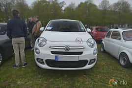 Front  of Fiat 500X 1.4 MultiAir Automatic, 140ps, 2018 at Italienska Fordonsträffen - Krapperup 2019