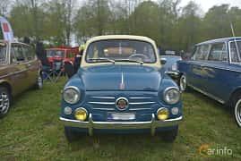 Fram av Fiat 600D 0.8 Manual, 33ps, 1966 på Italienska Fordonsträffen - Krapperup 2019