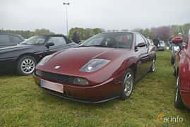 Front/Side  of Fiat Coupé 2.0 Manual, 147ps, 1997 at Italienska Fordonsträffen - Krapperup 2019
