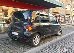 Back/Side of Fiat Multipla 1.6 Manual, 103ps, 2002