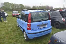 Bak/Sida av Fiat Panda 1.2 FIRE Dualogic, 60ps, 2005 på Italienska Fordonsträffen - Krapperup 2019