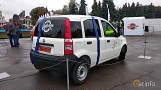 Back/Side of Fiat Panda 2004 at Old Car Land no.2 2018