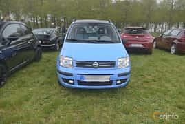 Fram av Fiat Panda 1.2 FIRE Dualogic, 60ps, 2005 på Italienska Fordonsträffen - Krapperup 2019