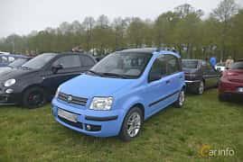Fram/Sida av Fiat Panda 1.2 FIRE Dualogic, 60ps, 2005 på Italienska Fordonsträffen - Krapperup 2019