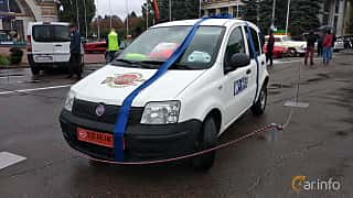 Front/Side  of Fiat Panda 2004 at Old Car Land no.2 2018