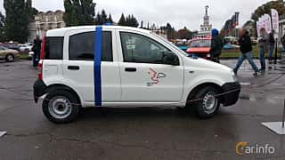 Side  of Fiat Panda 2004 at Old Car Land no.2 2018