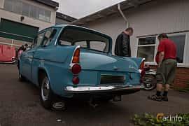 Back/Side of Ford Anglia 1.0 Manual, 39ps, 1962 at Joe's garage 2019´s stora Jaugurevent