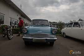 Front  of Ford Anglia 1.0 Manual, 39ps, 1962 at Joe's garage 2019´s stora Jaugurevent