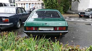 Back of Ford Capri 1.6 Manual, 70ps, 1982 at Old Car Land no.2 2018