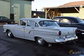 Back/Side of Ford Custom 300 Fordor Sedan 4.5 V8 Automatic, 193ps, 1957