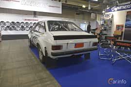 Back/Side of Ford Escort 2-door Sedan 1.6 Manual, 84ps, 1978 at Bilsport Performance & Custom Motor Show 2019