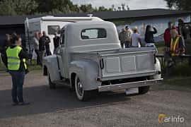 Back/Side of Ford F Pickup 3.7 Manual, 97ps, 1948 at Tisdagsträffarna Vikingatider v.25 / 2017