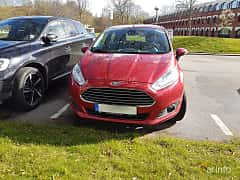Front  of Ford Fiesta 5-door 1.0 EcoBoost Manual, 100ps, 2016