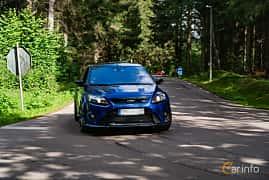 Front/Side  of Ford Focus RS 2.5 Manual, 305ps, 2009 at Svenskt sportvagnsmeeting 2019