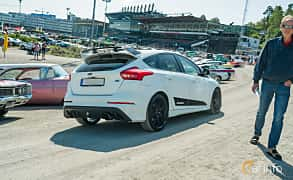 Back/Side of Ford Focus RS 2.3 EcoBoost AWD Manual, 350ps, 2017 at Stockholm Vintage & Sports Car meet 2019