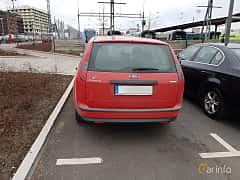 Bak av Ford Focus Combi 1.8 Duratec Flexifuel Manual, 125ps, 2007