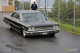 Front/Side  of Ford Galaxie 500/XL Sports Hardtop 6.4 V8 Automatic, 305ps, 1963 at Bil & MC-träffar i Huskvarna Folkets Park 2019 Amerikanska fordon