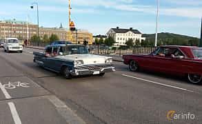 Front/Side  of Ford Galaxie Town Sedan 5.8 V8 Automatic, 305ps, 1959 at Nostalgidagarna Härnösand 2019