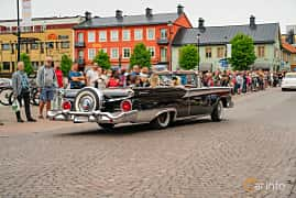Back/Side of Ford Galaxie Sunliner 4.8 V8 Automatic, 203ps, 1959 at Nässjö Cruising 2019